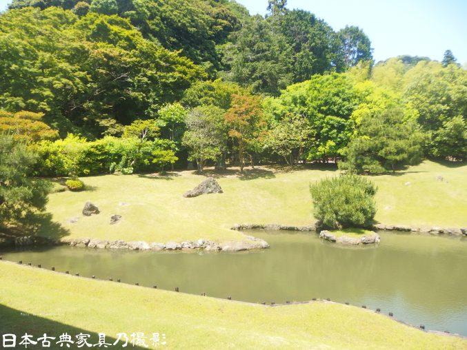 建長寺 庭園の心字池