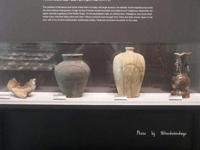 鎌倉歴史文化交流館 発掘された陶磁器