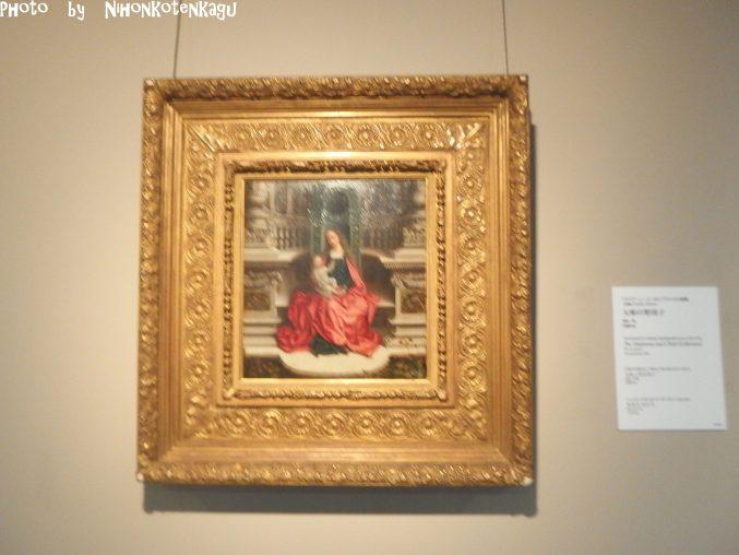 国立西洋美術館所蔵 アドリアーン・イーゼンブラント に帰属「玉座の聖母