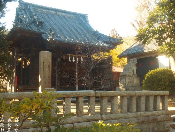 八坂大神 扇ガ谷 壽福寺の隣にある神社、アクセスデータ付き。