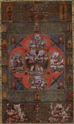 「歓喜天曼陀羅」神奈川県立近代美術館所蔵