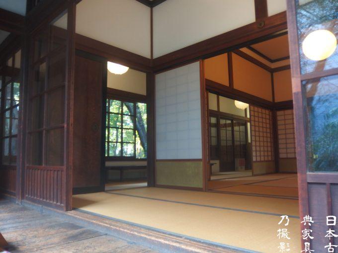 東京国立博物館 北庭園 九条館