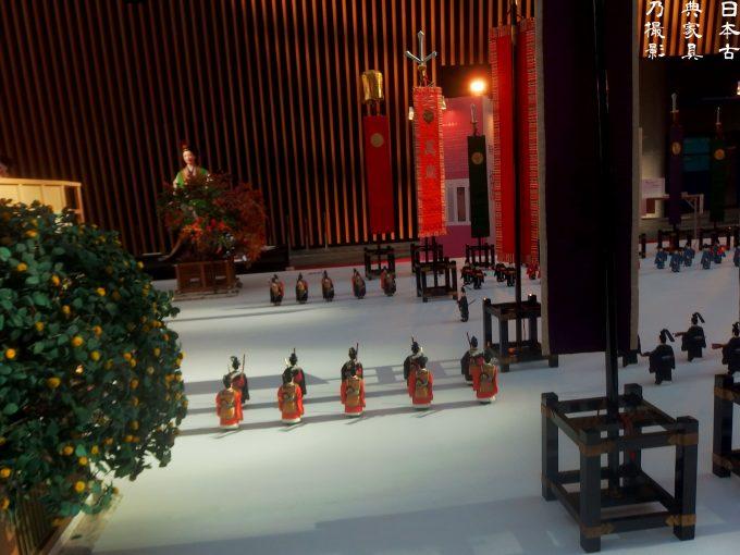 j-culture FEST 宮廷文化・今昔物語展 東京フォーラム 大正天皇の即位式の模型