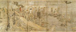 光明寺所蔵 当麻曼陀羅縁起絵巻写本