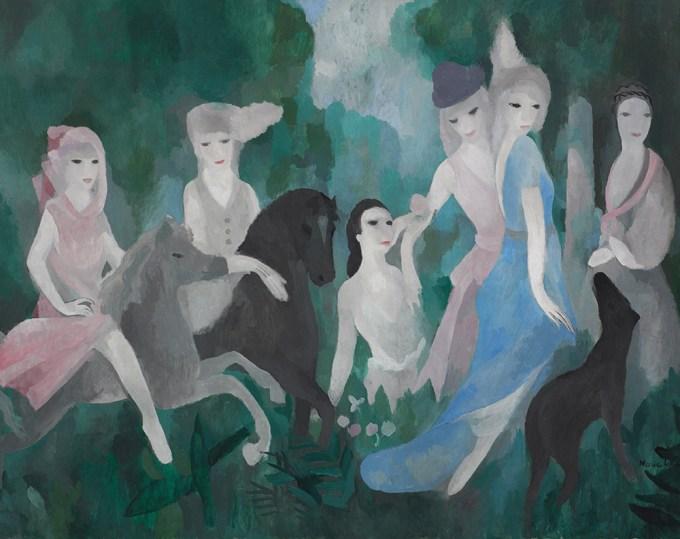 「お城の生活」マリー・ローランサン
