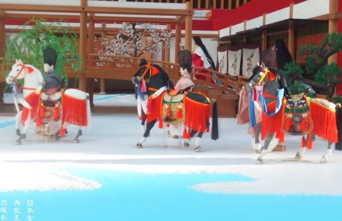 源氏物語の世界へようこそ 六条院 春の御殿