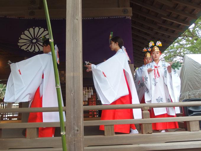鎌倉宮 御神楽始式