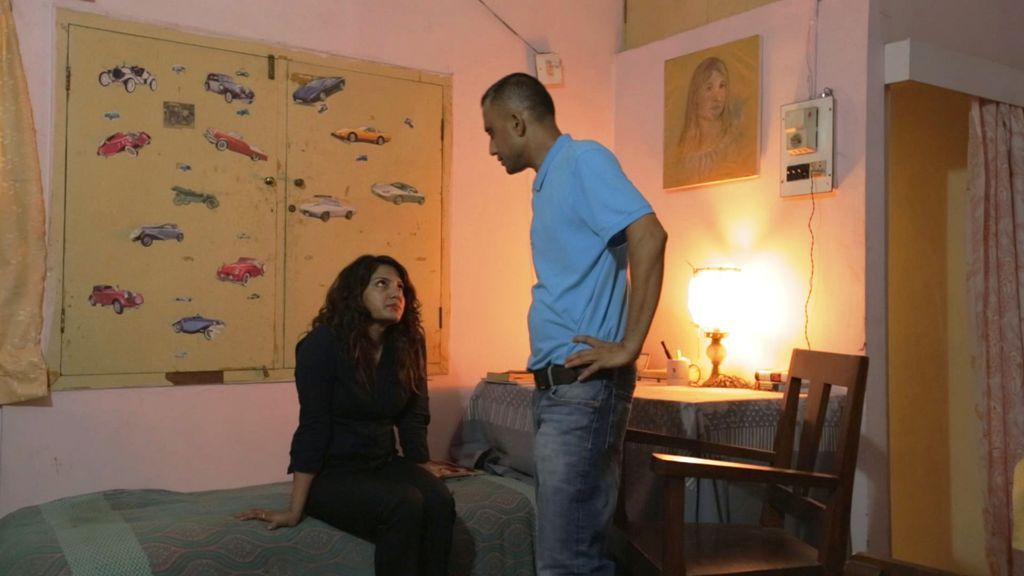 Upamanyu Boruwa and Stuti Choudhury in 'Grief on a Sunday Morning'