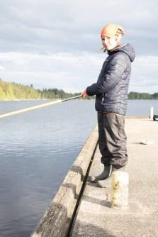 Joona Nivanaho on kokenut kalastaja. Onpa hän väsyttänyt 9,9 kilon hauenkin.
