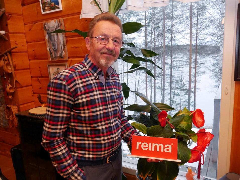 Reima Karetie ja Reima-vaatevalmistaja ovat yhtä vanhoja –75-vuotiaita.