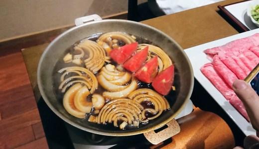三田ばさら名物のトマトすき焼きってどんな味?トマトと割り下が好相性!