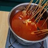 蒲田、香楽園。謎の鍋「秘制涮串」。辛さの裏にある旨さがジワジワと堪能できる鍋