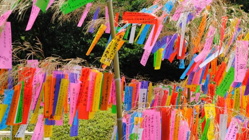 O festival das estrelas: Tanabata 【七夕】