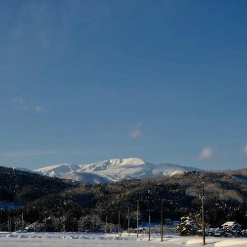x-t4で撮影の2021栗駒山の雪景色の写真