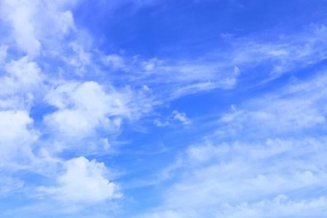 行雲流水のイメージ写真