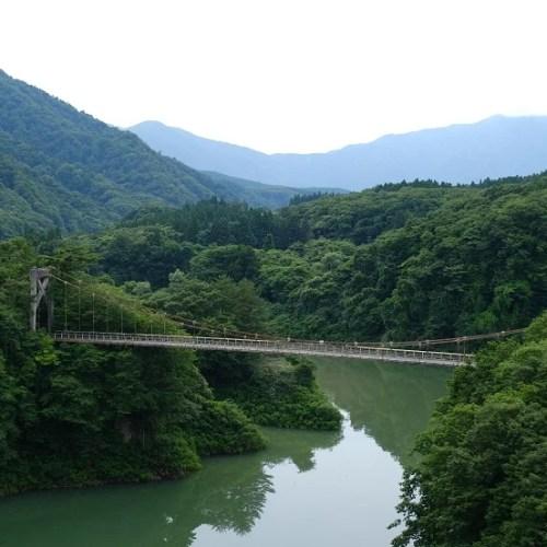鳴子ダム荒尾湖の7月の写真