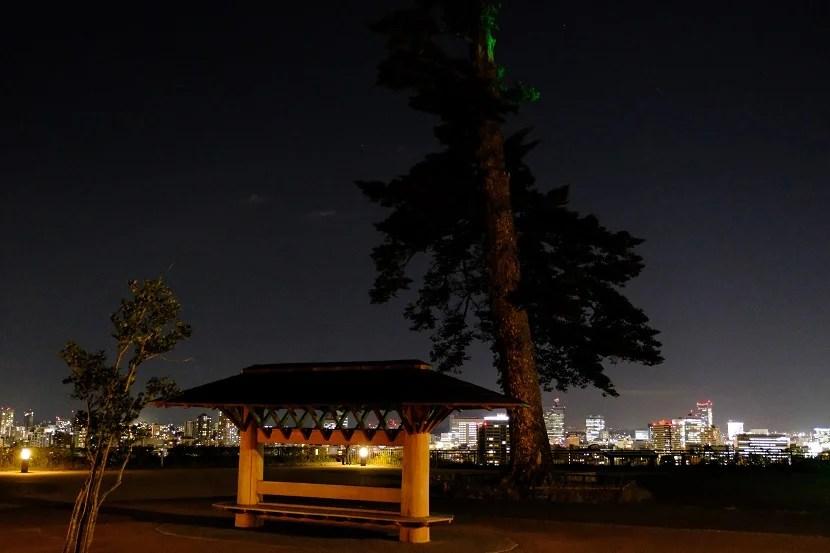 夜の帳のイメージ写真