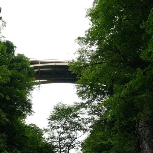 鳴子大橋の6月の風景写真