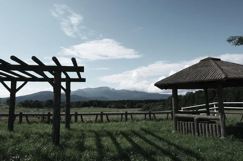 栗駒山の7月の風景写真