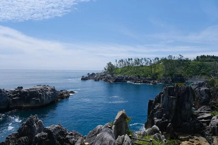 唐桑半島の夏の風景写真