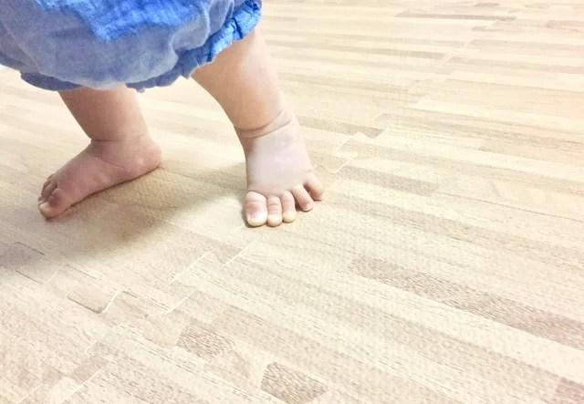足のサイズのイメージ写真