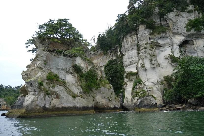 9月の松島嵯峨渓の写真