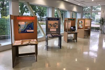 神奈川大学の展示風景