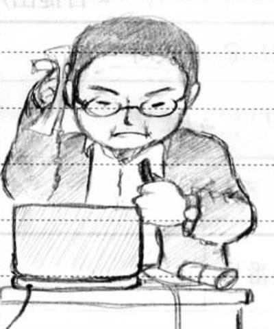 三上喜孝 先生
