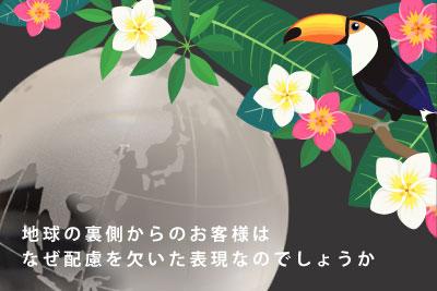 ガラスの地球と鳥