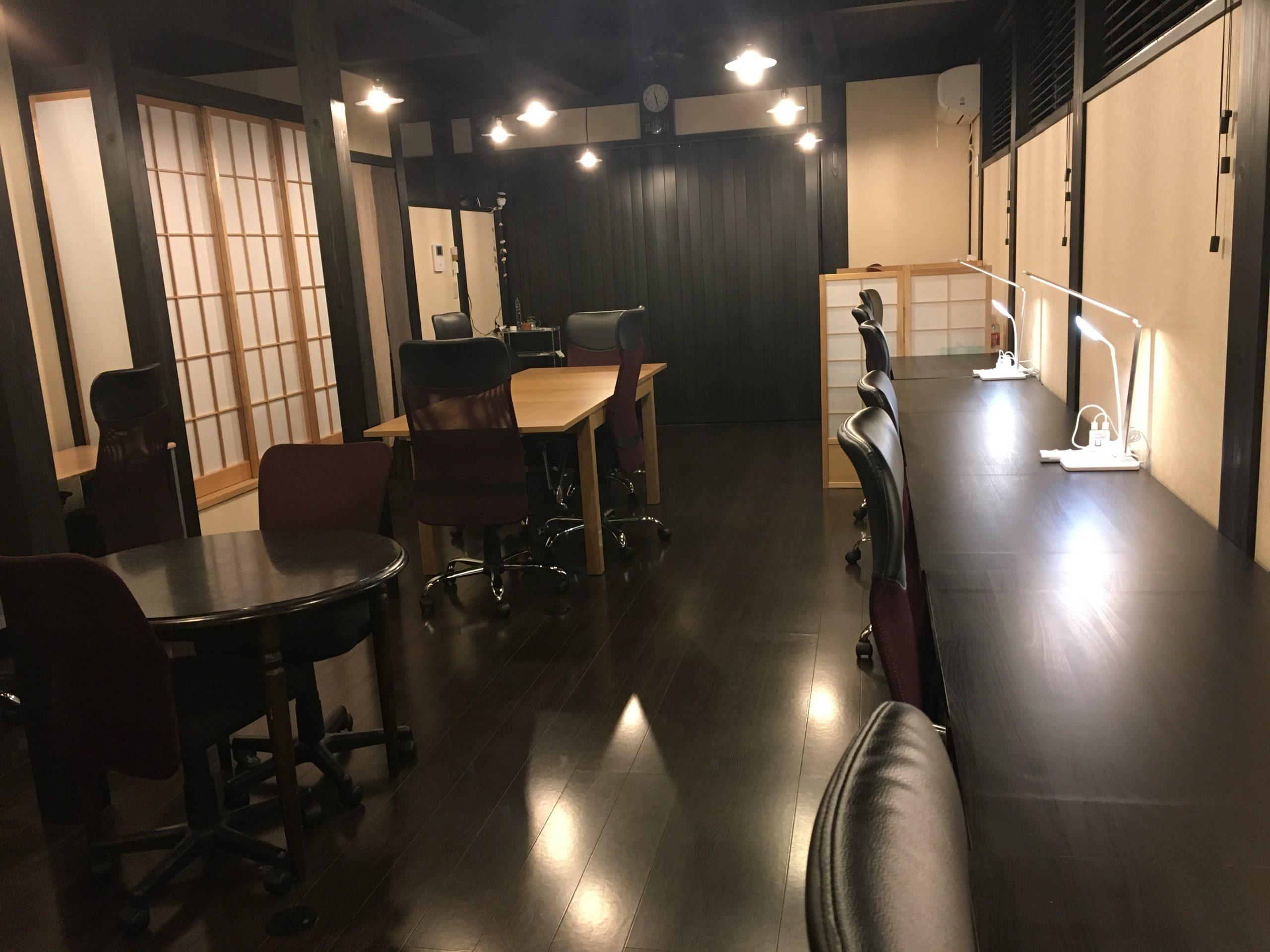 古都北鎌倉コワーキングスペースことkama.のオフィス