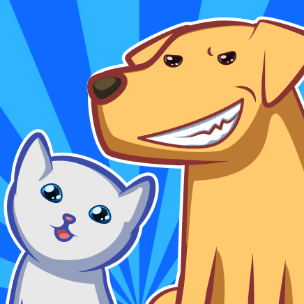 bad dogs nice cat icon