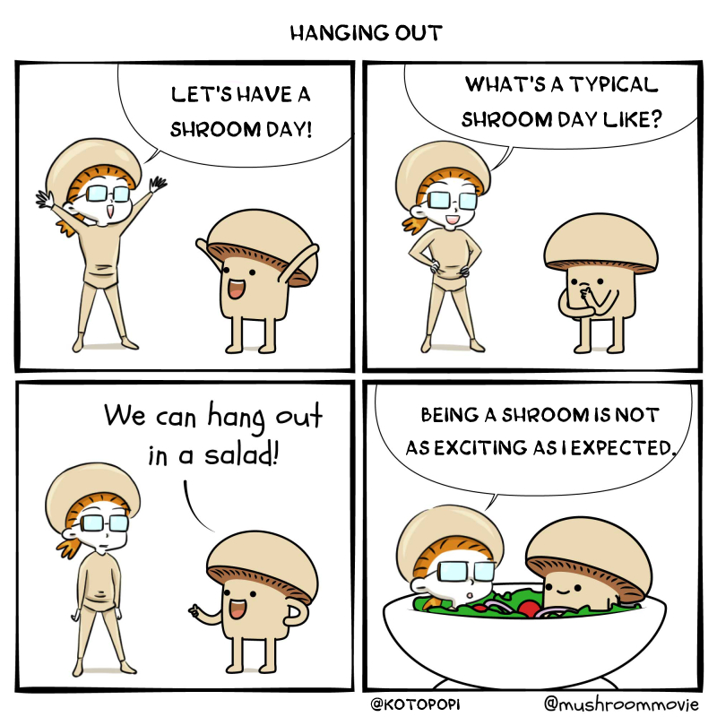 collaboration mushroom movie kotopopi