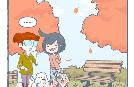 A walk to the park (comic collab' with Ophelia Chiu)
