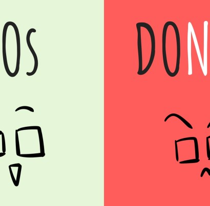 A list of 'dos and don'ts' for art commissions.