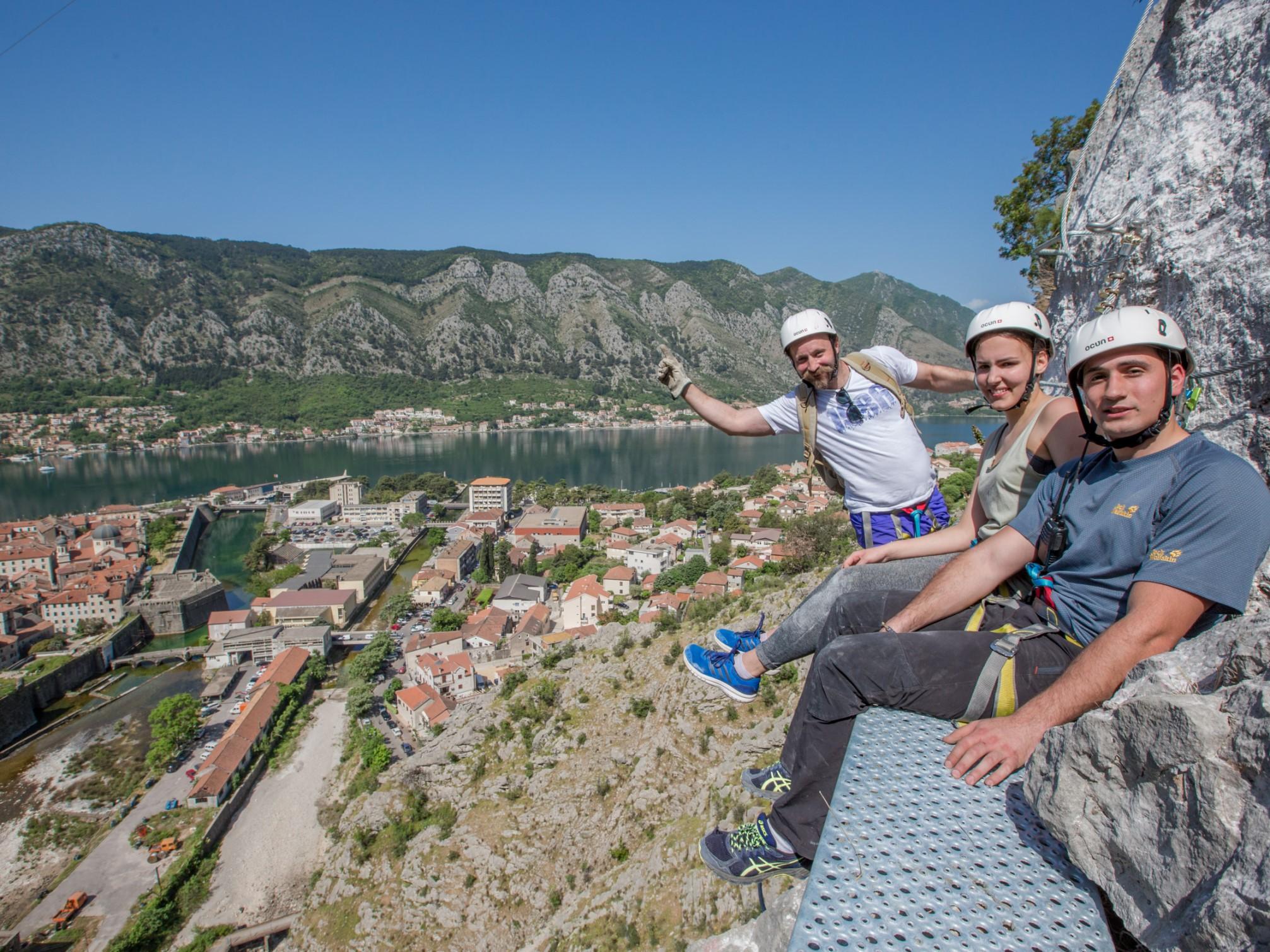 see and do via ferrata kotor climbing hiking