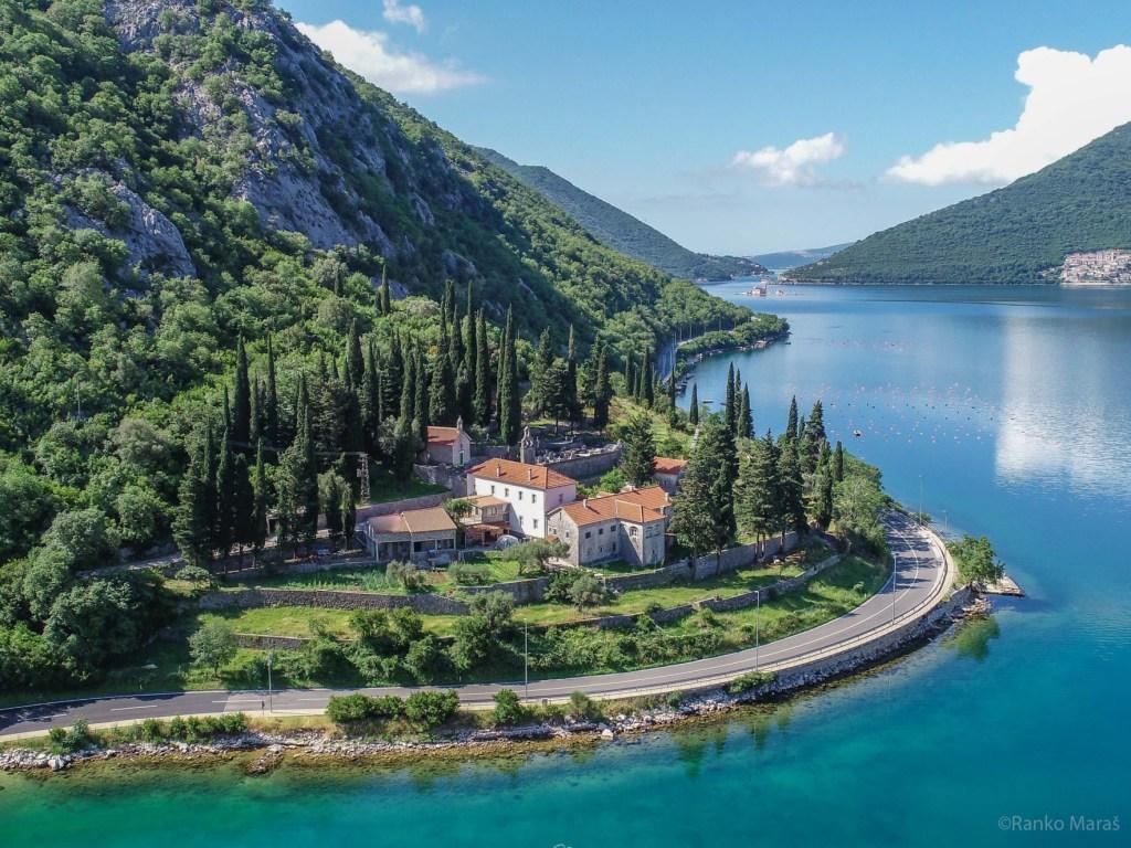 kotor bay montenegro risan