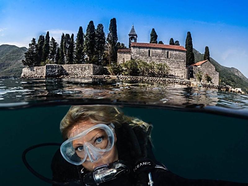 diving kotor plava planeta