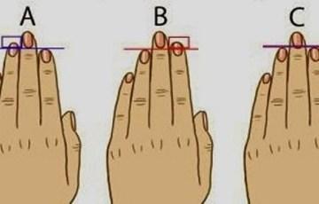 指の長さ 特徴