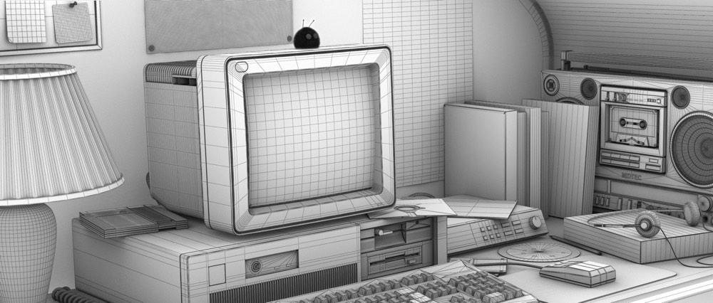 early 90s computing nostalgia