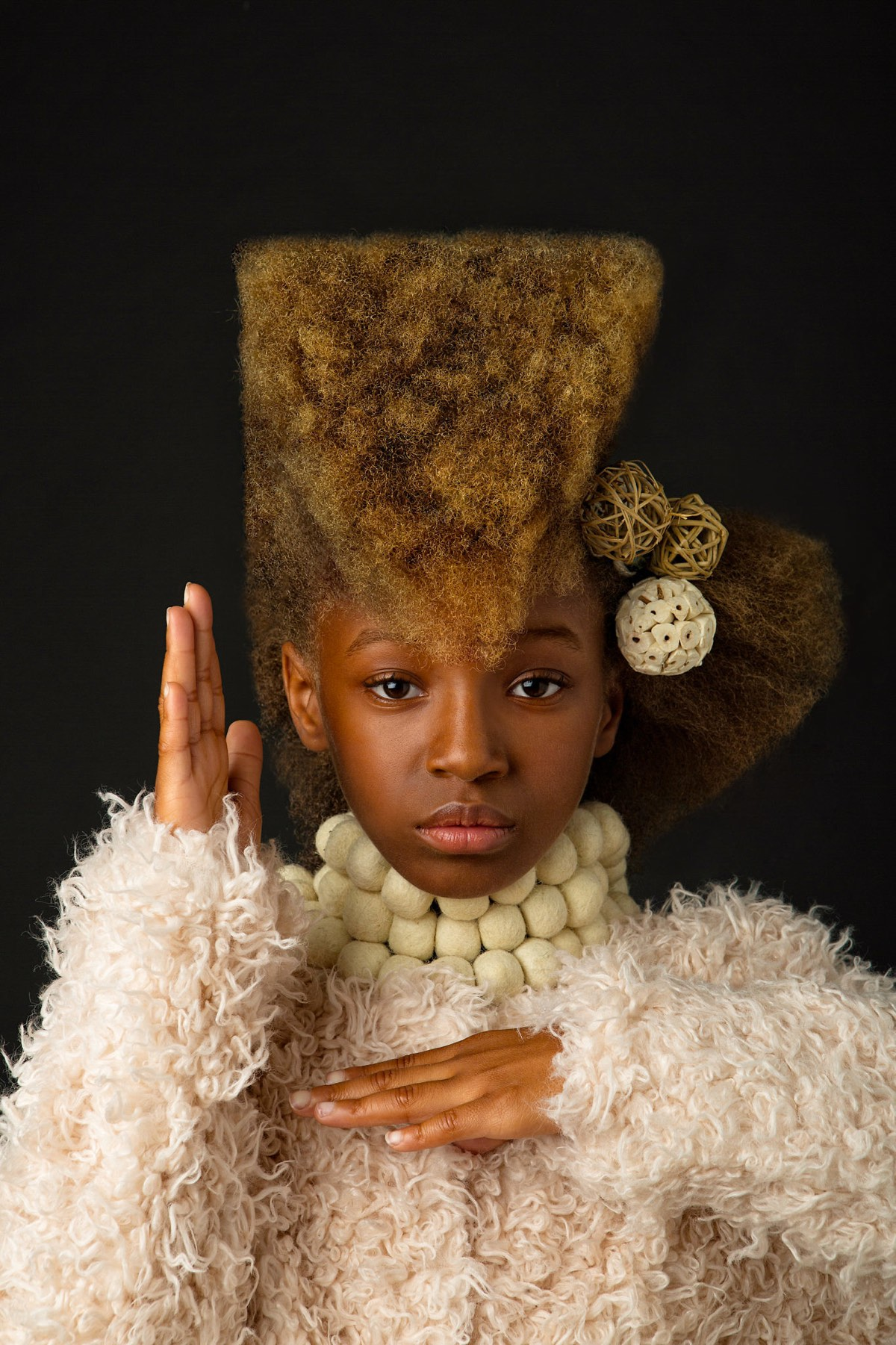 Afroart Fantastic Portraits Of African American Kids With Unique