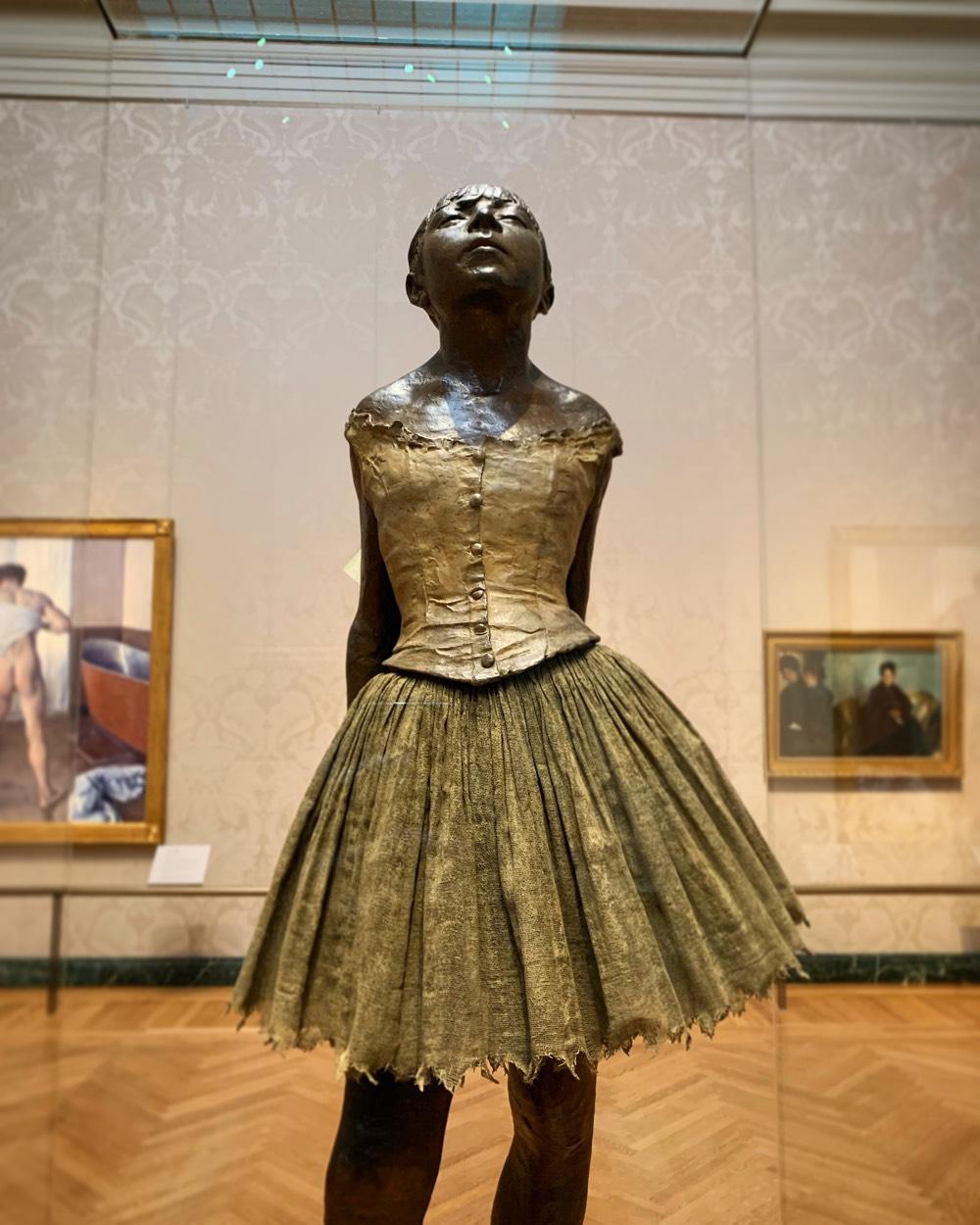 La Petite Danseuse De Degas : petite, danseuse, degas, Petite, Danseuse, Quatorze
