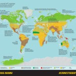 A Map Of The World After Four Degrees Of Warming