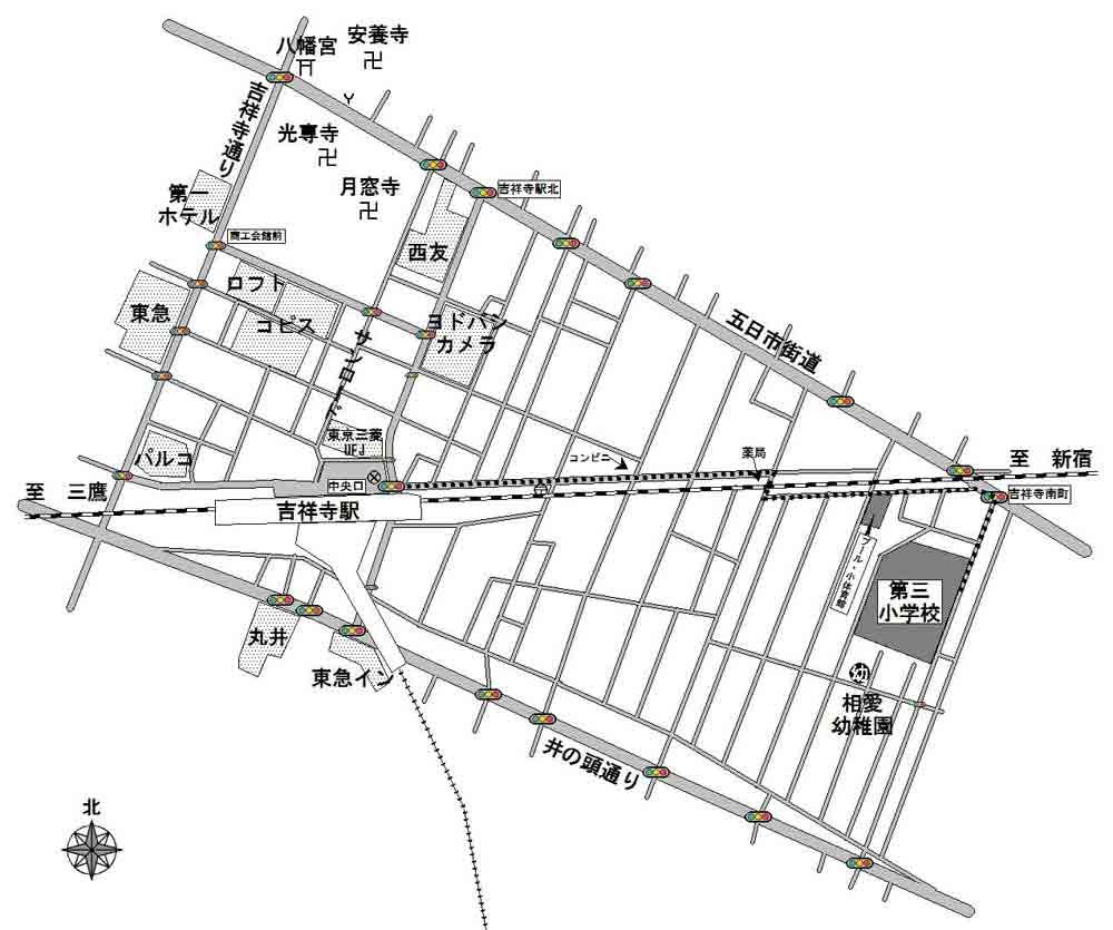 武蔵野市立第三小学校小体育館