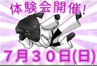 7月30日(日) 無料の空手体験会を開催します!