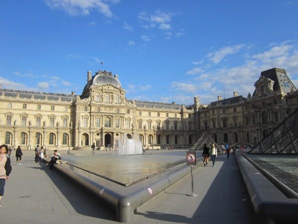 Le Louvre Paris Fall 2012
