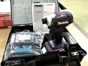 makita 充電式インパクトドライバー TD172DGX AP オーセンティックパープル