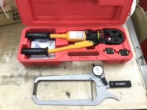 LOBSTER ロブスター 手動油圧式圧着工具 AKH150S