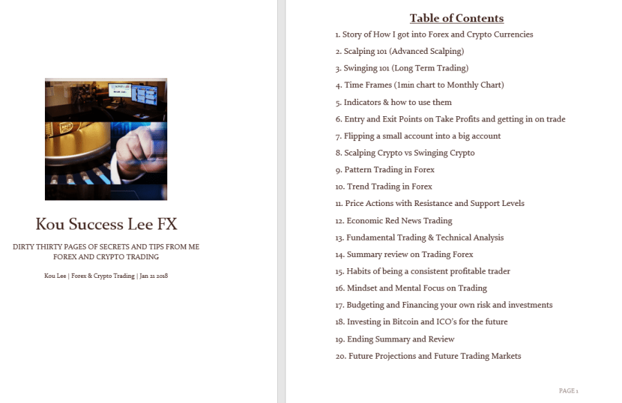 new book 20 contents kou lee secrets
