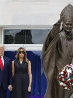 George Floyd: «rébellion silencieuse de Melania» contre Donald Trump (Vidéo)