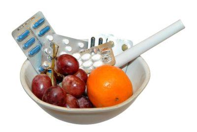 食事とサプリメント
